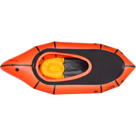 nortik TrekRaft Dinghy met kap, orange/black